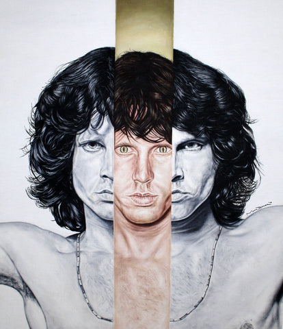 Jim Morrison 'Lizard King' – canvas print