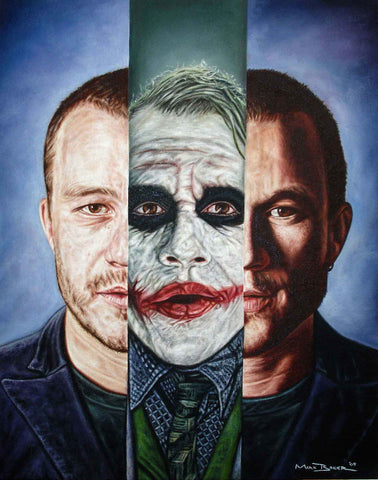 The Joker In III – canvas print