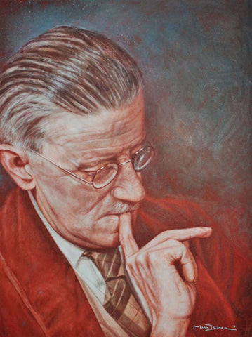 James Joyce painting - SOLD