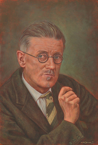 James Joyce – canvas print