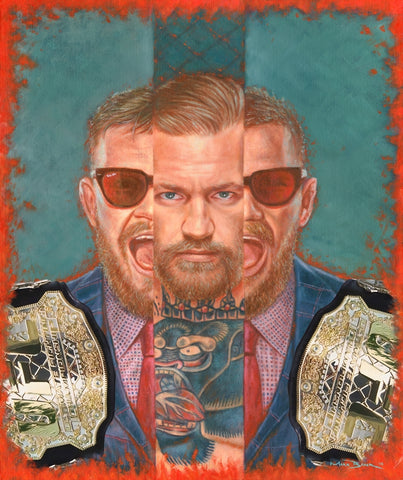 Conor McGregor 'Champ Champ' – canvas print