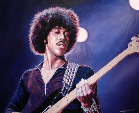 Phil Lynott Live – canvas print