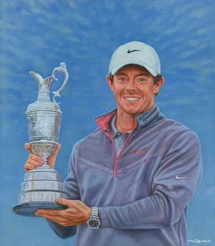 Rory McIlroy – canvas print