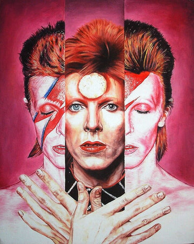 Bowie In III – canvas print