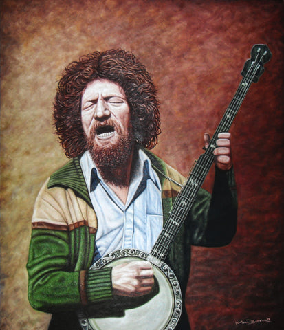 Luke Kelly – canvas print