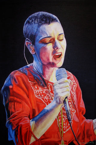 Sinead O'Connor  – canvas print