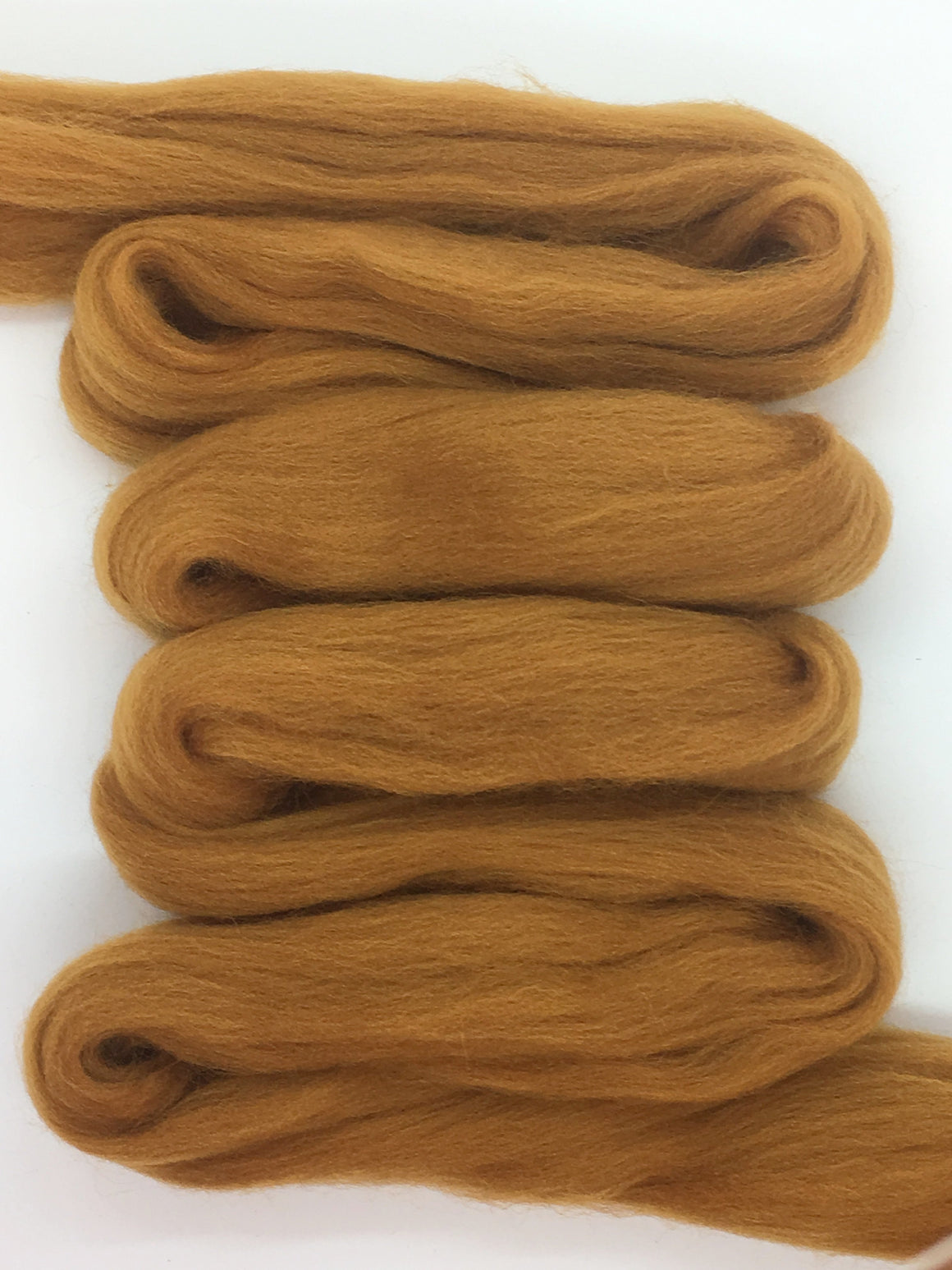Cinnamon Spice Merino Wool Top Roving