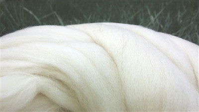 DIY - 13 lb BULK Natural White Wool Roving Fiber for making Chunky Large Knit Blanket