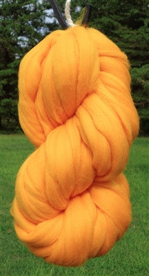 Goldenrod Merino Wool Top Roving