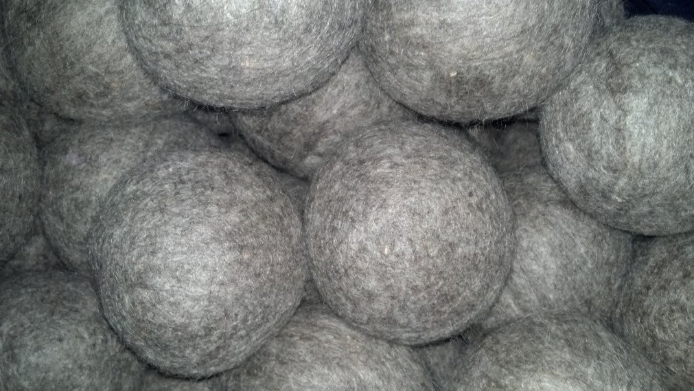 100 Count Wool Dryer Ball (Grey)
