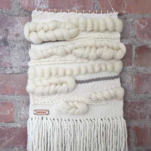 wool wall weaving hanging