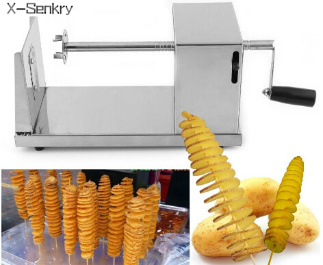 Potato cutter - spiral cutting machine chips Cooking Tools Chopper Potato Chip - Your Kitchen Ideas
