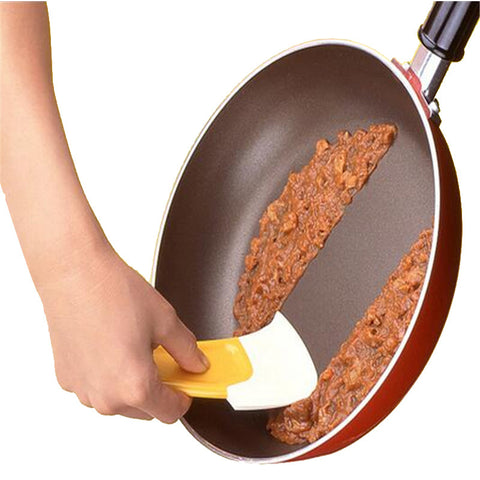 Silicone Kitchen Spatula Scraper for Cleaning Dirty Cookwares - Your Kitchen Ideas