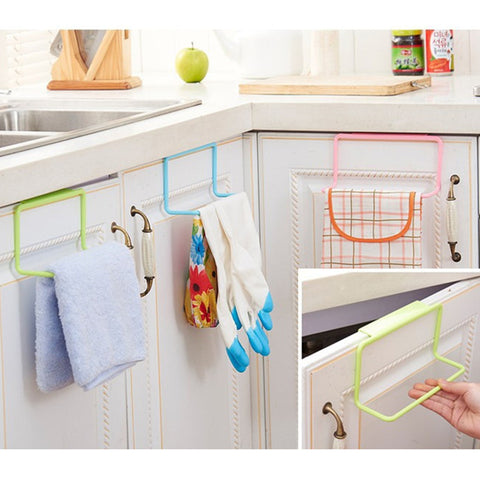 Towel Rack Kitchen Cupboard Hanging Wash Cloth - Your Kitchen Ideas