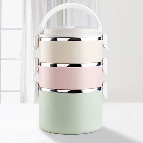 Stainless Steel Portable Food Container / Lunch Box - Your Kitchen Ideas