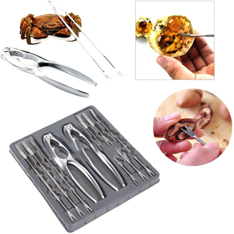 8-Piece Seafood Cracker and Pick Set - Your Kitchen Ideas