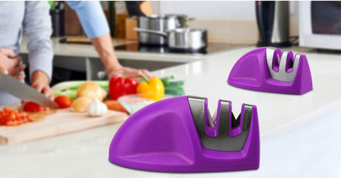 2 Stage (Diamond and Ceramic) Kitchen Knife Sharpener - Your Kitchen Ideas