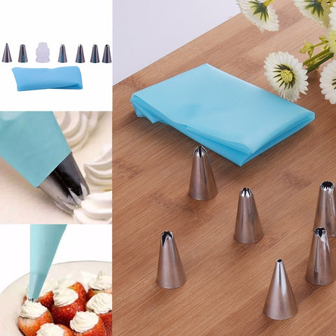 8pcs Pastry Decorating Set - Your Kitchen Ideas