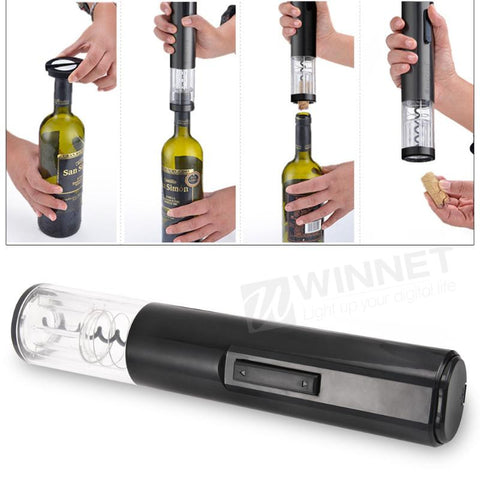 Automatic Wine Bottle Opener with Foil Cutter - Your Kitchen Ideas