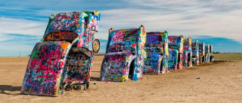 Cadillac Ranch - Amarillo - US Route 66