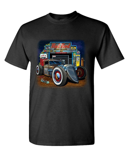 Tee shirt Route 66 Muscle Car