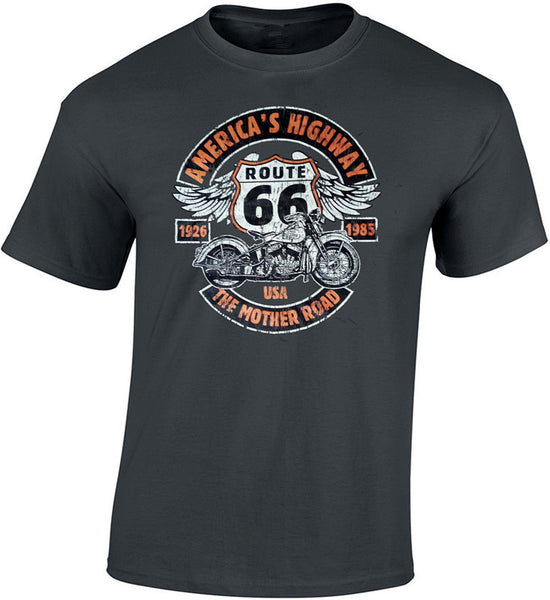 Tee shirt Vintage Route 66