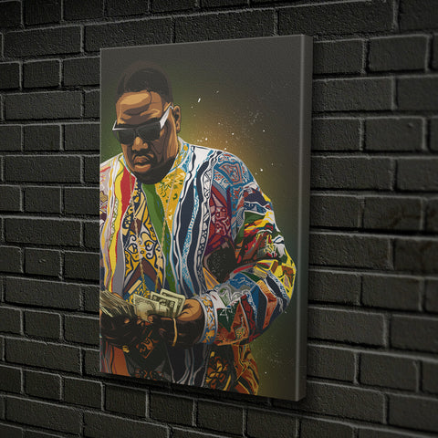 """Biggie Baller"" by CANVAS HYPE"