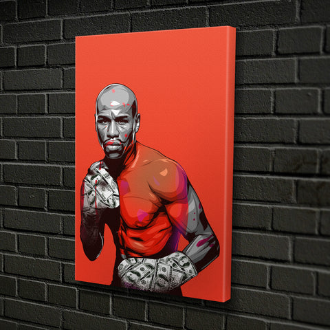 """Blood Money Mayweather"" by CANVAS HYPE"