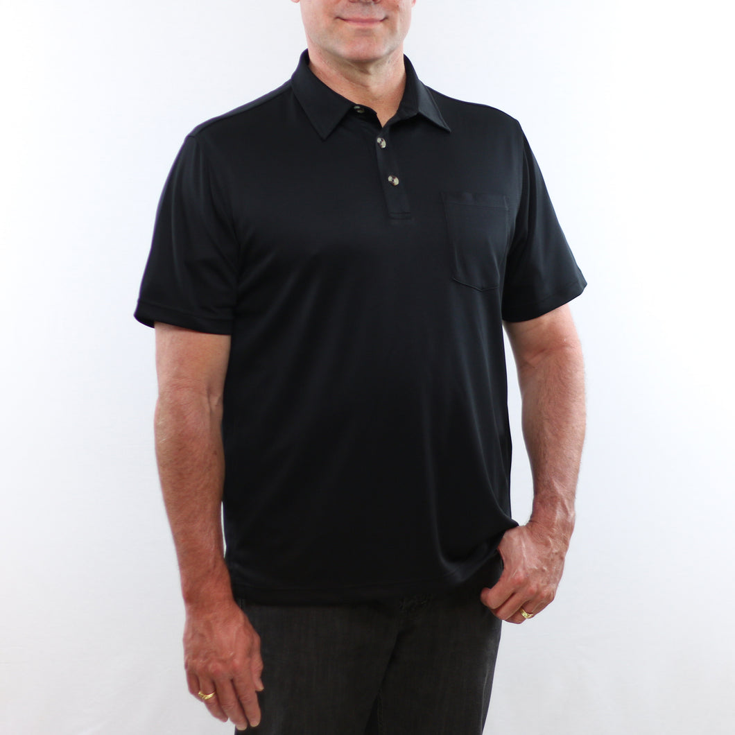 Mens Adaptive Perfected Polo