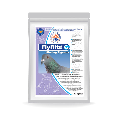 RELEASE OF NEW PRODUCT FOR RACING PIGEONS - FLYRITE™