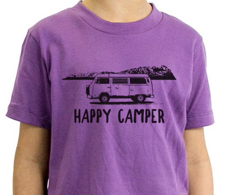 Happy Camper Organic Toddler Tee