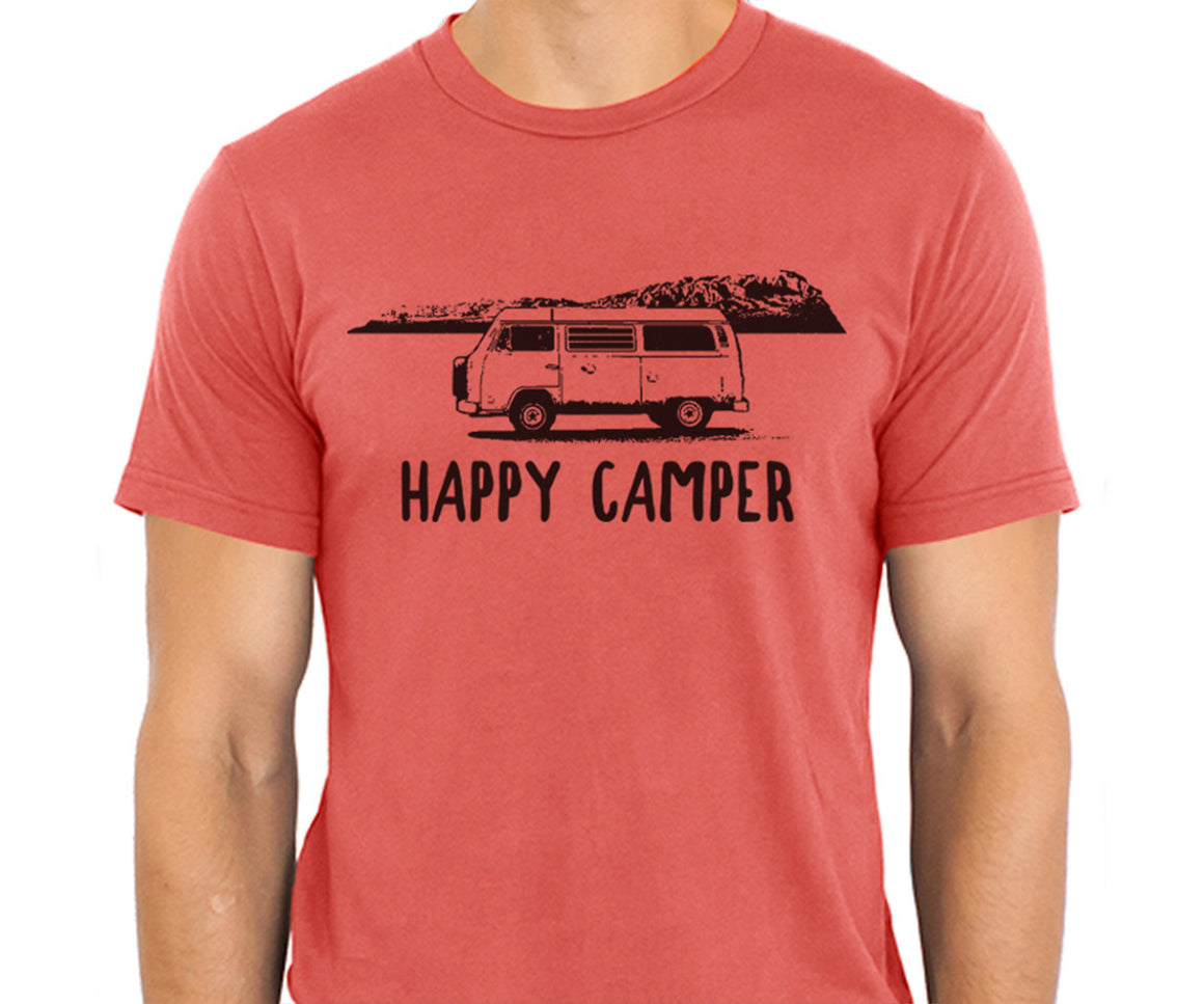 Happy Camper Organic Tee