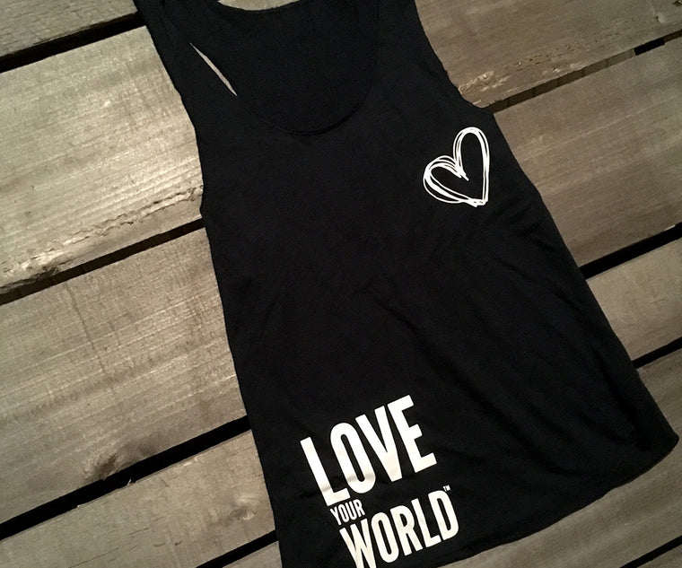 Organic tank top made in the USA | Love your world