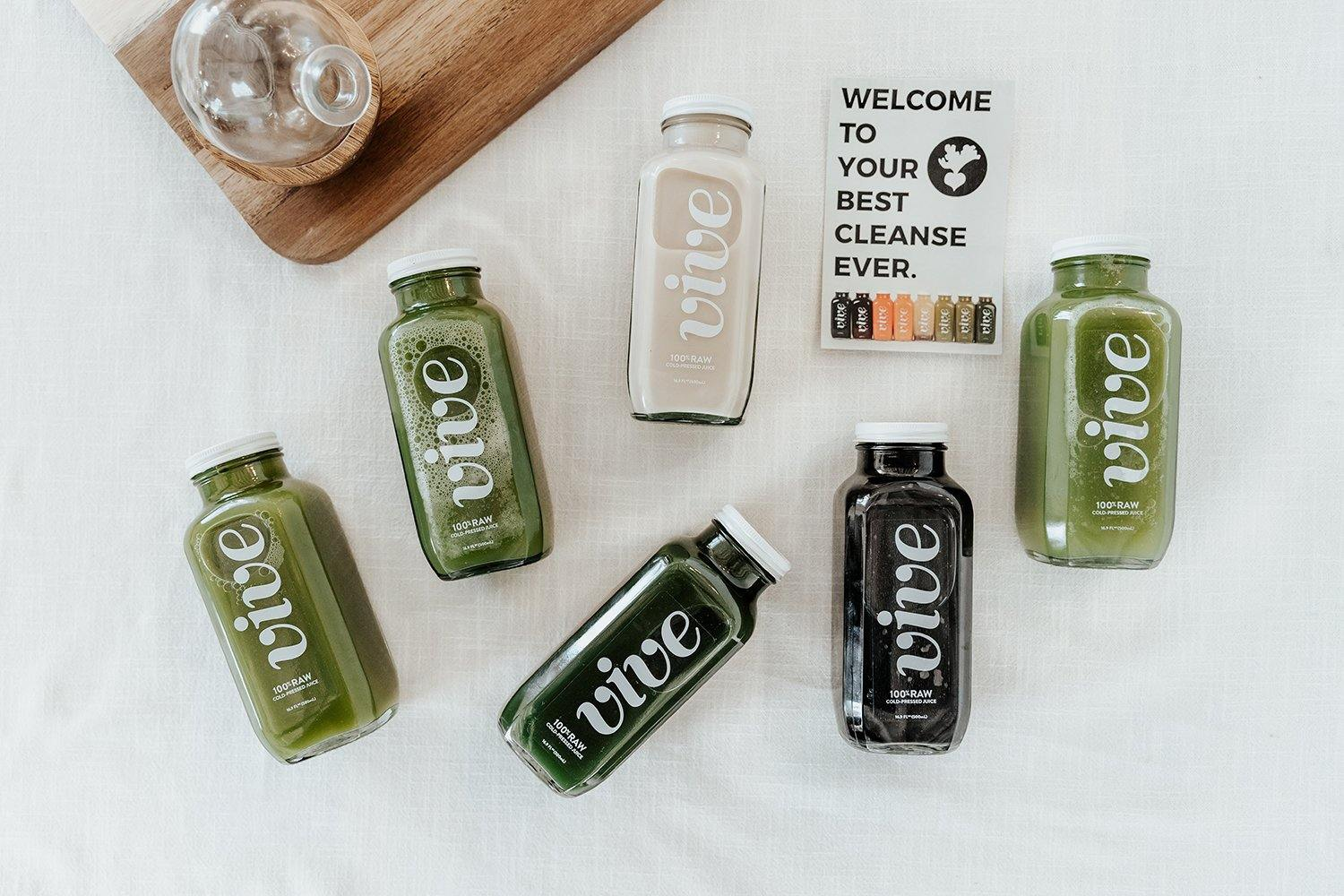 Greens Cleanse [Pre-Order] - Vive Juicery