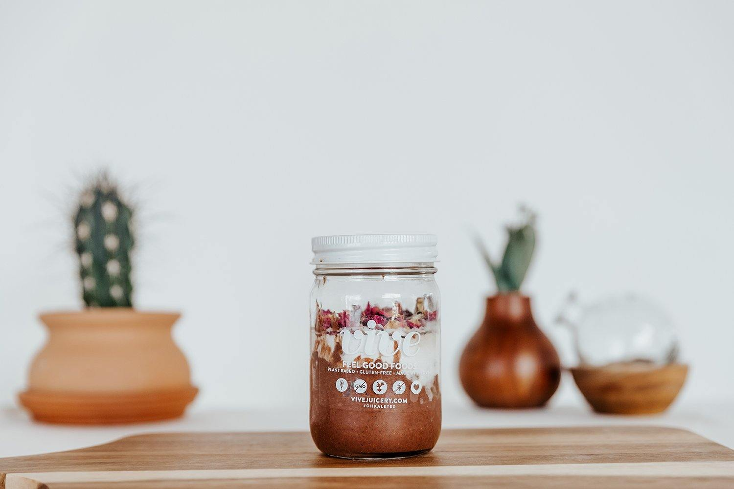 Cacao Chia Pudding [Pre-Order] - Vive Juicery