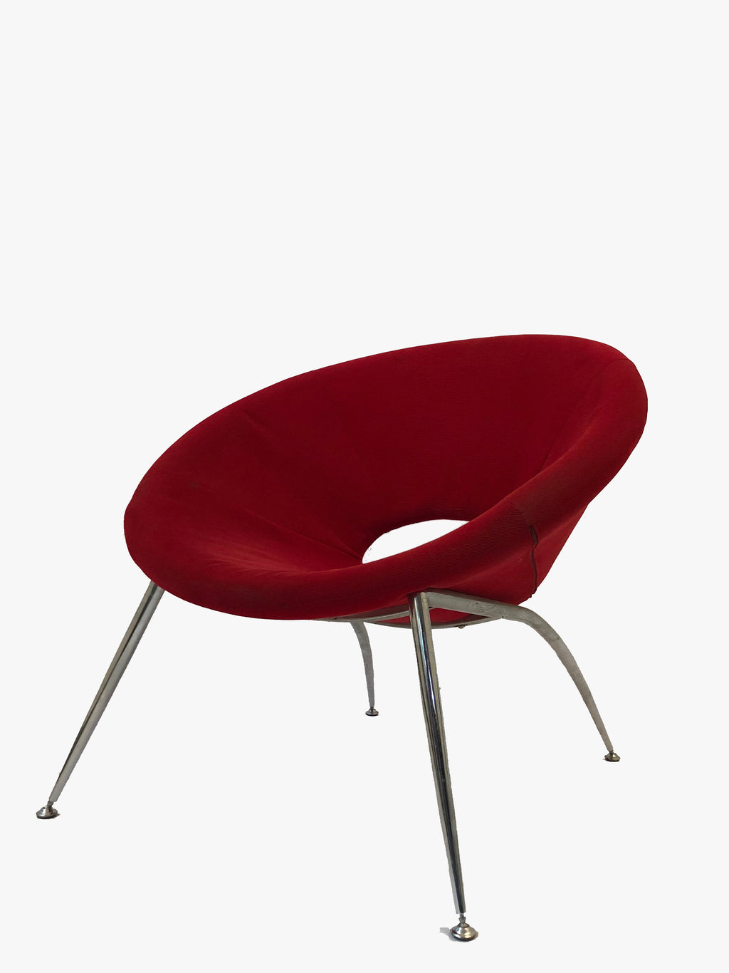 Red Rounded Seat