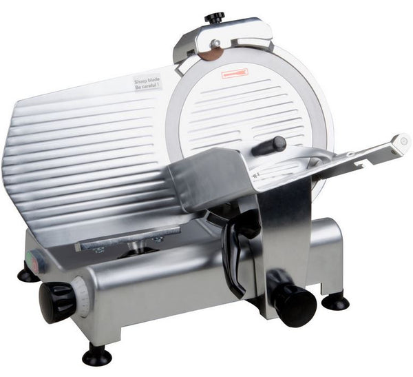 "Commercial 12"" Manual Countertop Gravity Feed Meat Food Slicer - 1/3 hp"