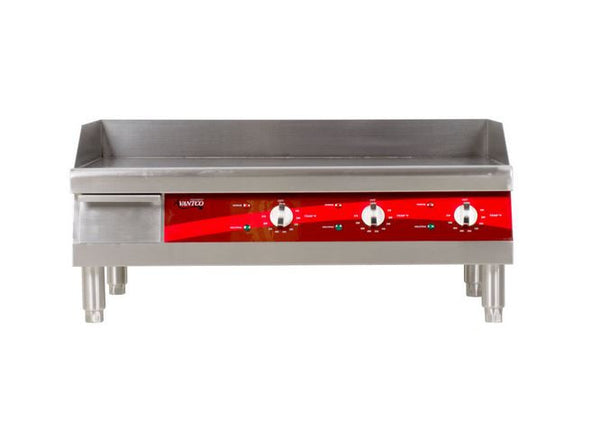 "30"" Commercial Electric Countertop Griddle, Flat Top Grill"