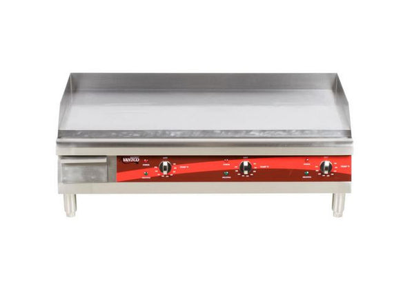 "36"" Commercial Electric Countertop Griddle, Flat Top Grill"