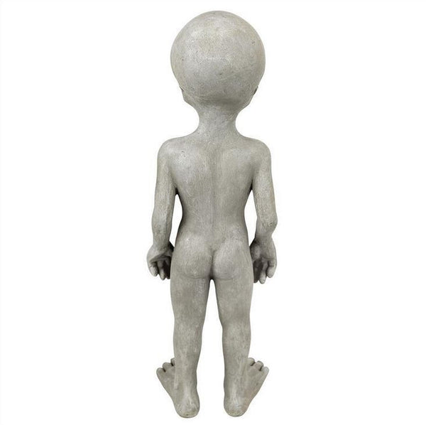 Alien Garden Lawn Yard Home Decor Unique Life-Like Statue Ornate Figure