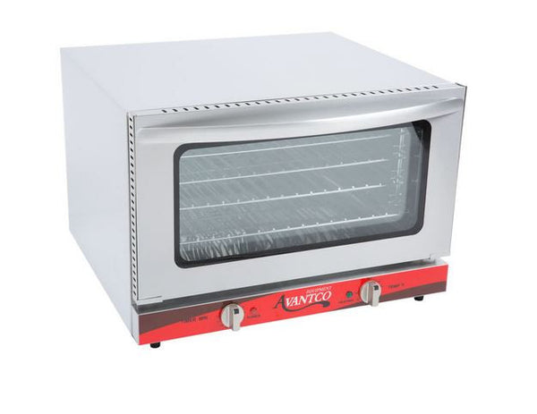 Commercial Duty Half Size Countertop Convection Oven, 1.5 Cu. Ft. - 120V, 1600W