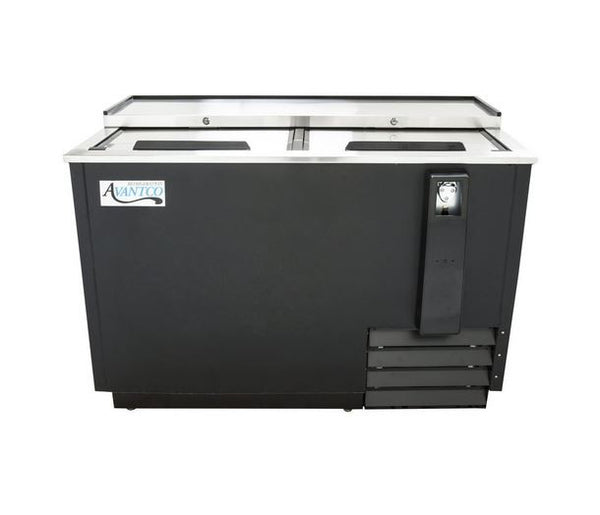 "50"" Commercial Duty 13 Cu. Ft. Horizontal Back Bar Beer Soda Water Bottle Refrigerator Cooler"