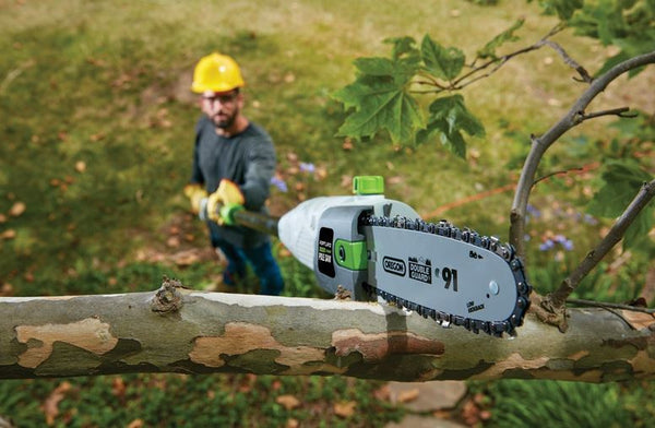 7 Amp Electric Tree Trimmer Branch Adjustable Pole Chain Saw
