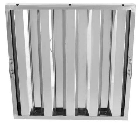 Commercial Kitchen Ventilation Stainless Steel Hood Filter (6 Pack)