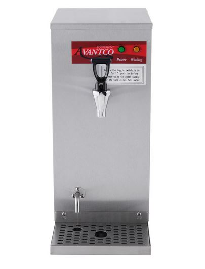Commercial Stainless 1.5 Gallon Hot Water Dispenser - 120V, 1450W