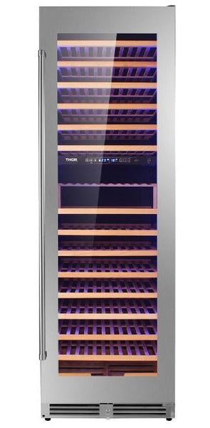 Thor Kitchen Stainless 162 Bottle Dual-Zone Wine Storage Cooler Unit