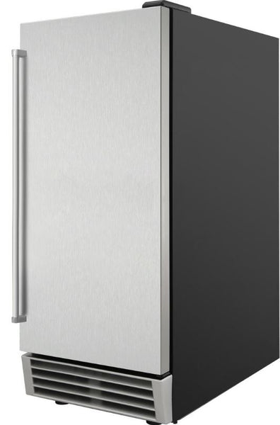 "Thor Kitchen Stainless Steel 15"" Built-In Icemaker"
