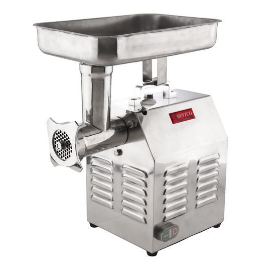 Stainless 1 1/2 HP Commercial Kitchen Meat, Sausage Grinder #22 - 110V