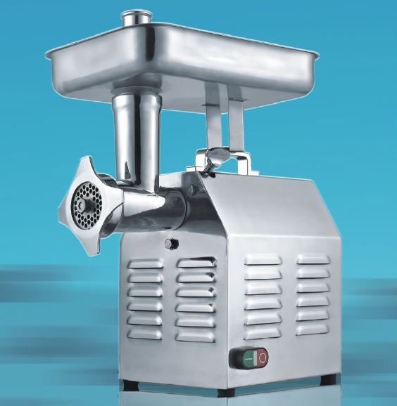 Commercial Kitchen Electric Stainless Meat Sausage #22 Grinder Mincer, 480 lbs/h Capacity