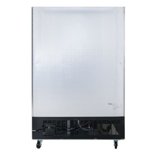 "54"" Two Section Solid Door Reach in Refrigerator - 46.5 Cu. Ft."